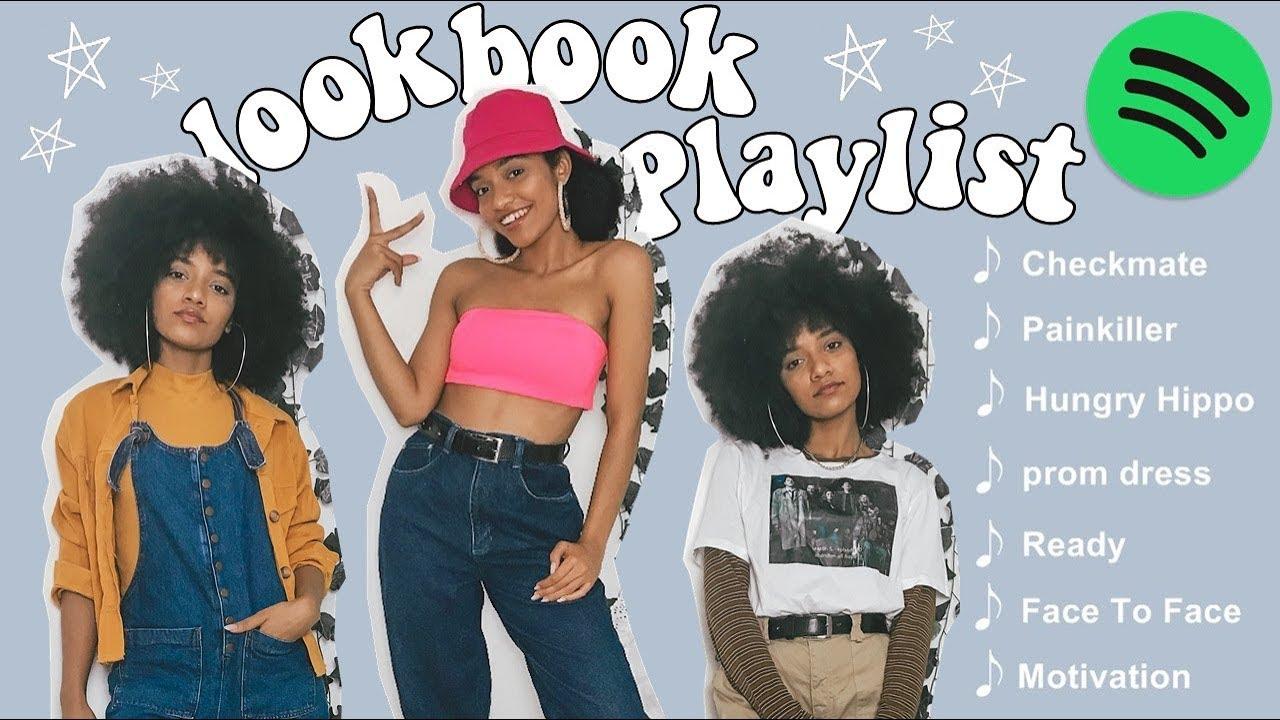 [VIDEO] - looks inspirados nas minhas músicas favoritas // LOOKBOOK PLAYLIST ?? 1