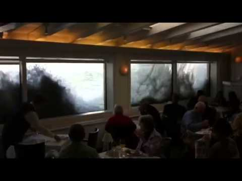 High Tide Breakfast At The Marine Room 12 14 12 Youtube