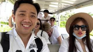 Trấn Thành, nhóm bạn thân và nhóm CỜ CÁ NGỰA tổ chức sinh nhật cho Hariwon tại resort MELIA HỒ TRÀM