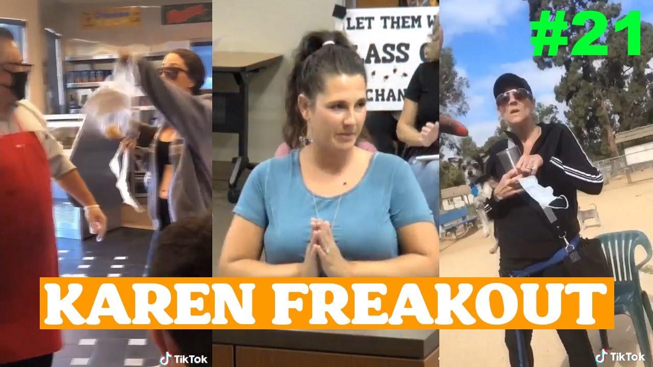 Karen Freakout compilation #21