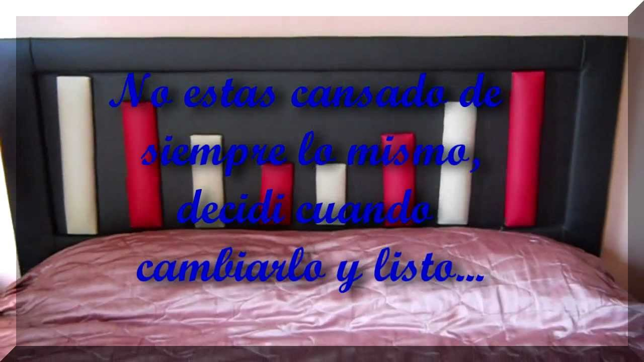 Respaldos de cama movibles nuevos dise os vission muebles - Respaldos para camas ...