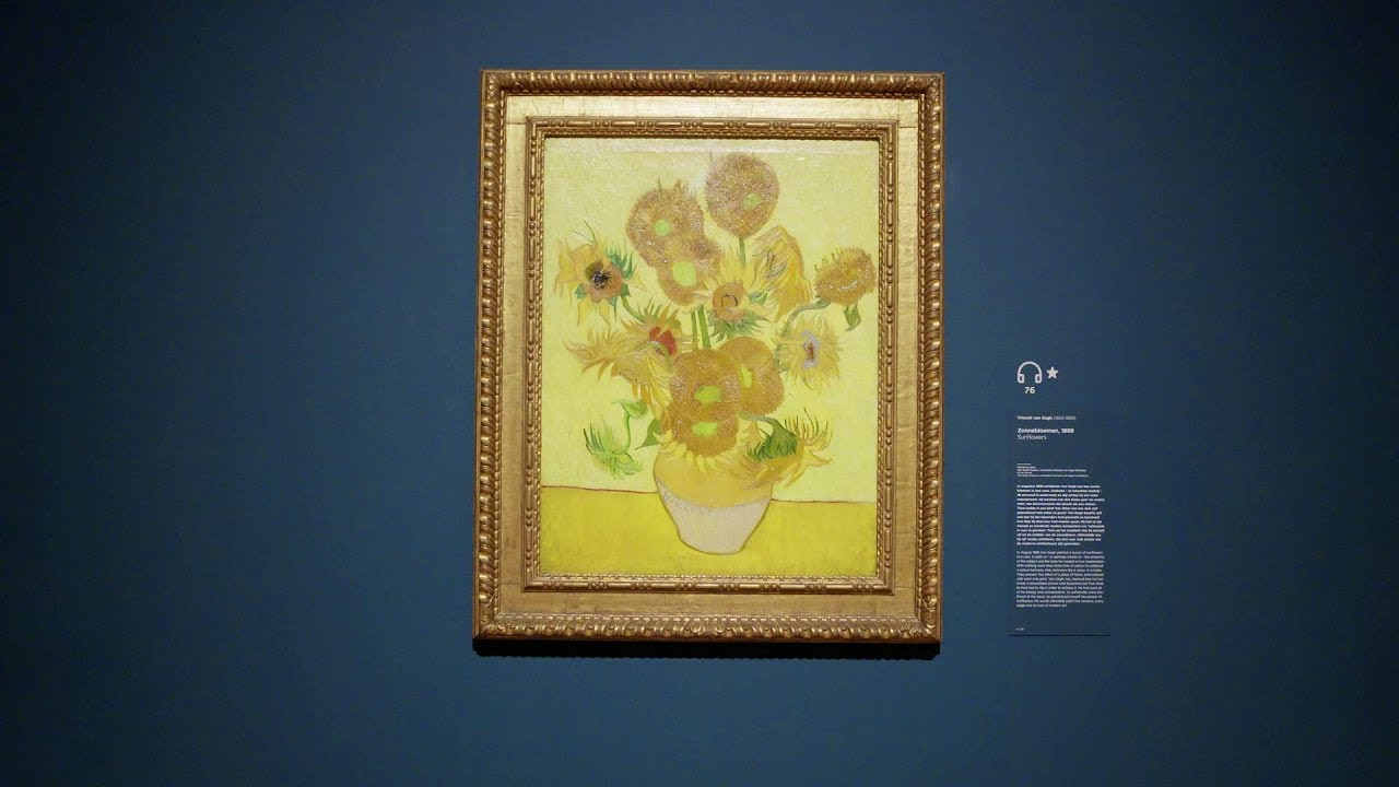 4fd2687536 Van Gogh s famous Sunflowers too fragile to leave Amsterdam