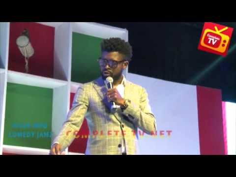Video (stand-up): Basketmouth Shows the Levels of Player's Phone Lock Codes