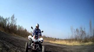 ATV ŠÍDLO access warrior 450 bez mp3
