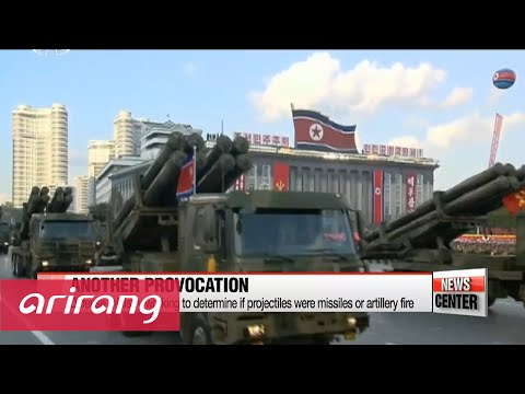North Korea fires six short-range projectiles, hours after new UN sanctions pass