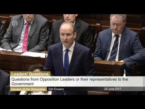 Micheál Martin TD raises plight of families serving in our Defence Forces