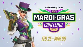 Ashe's Mardi Gras Challenge   Overwatch