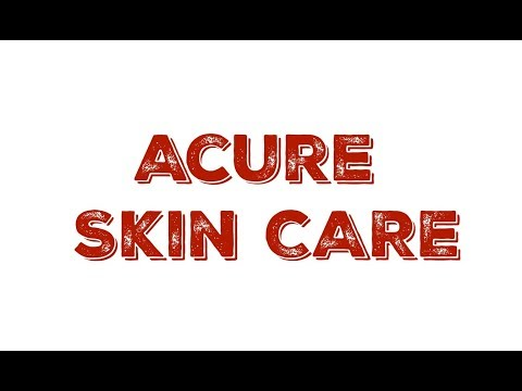 My Skin Care Routine: Acure  Skin Care Review