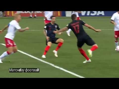 Tor Mario Mandzukic !!!!!!!! Kroatien vs England WM 2018 Halbfinale
