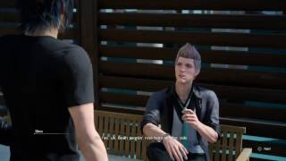The Aspiring Artisan Quest Start - Dino Cutscene (Final Fantasy XV)