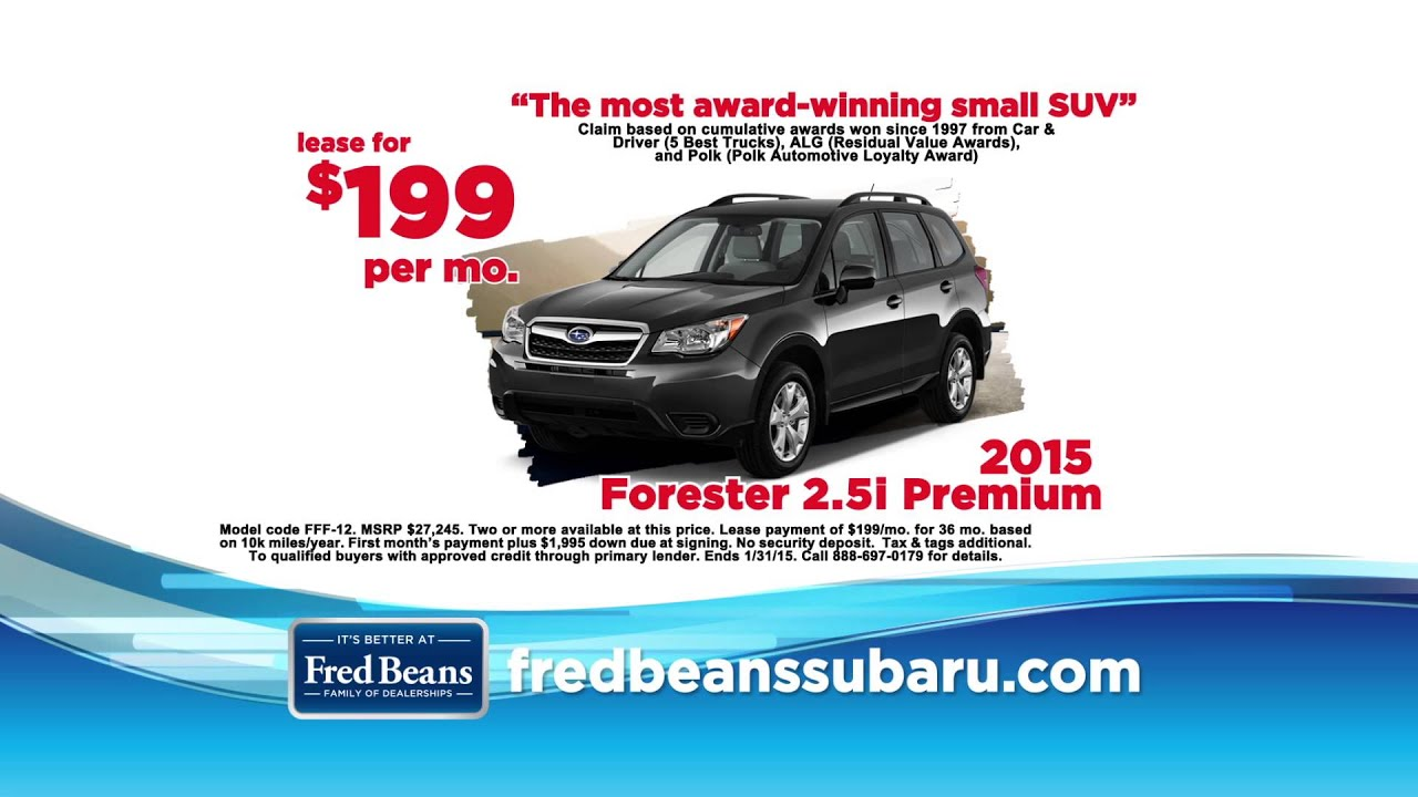 Fred Beans Subaru >> Fred Beans Subaru New Year New Subaru Youtube