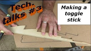 Building my steel sailing yacht Tech.talks #3 Making a toggle stick