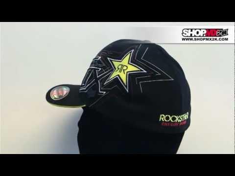 Casquette Fox Rockstar Star to Finish - SHOPMX2K.COM