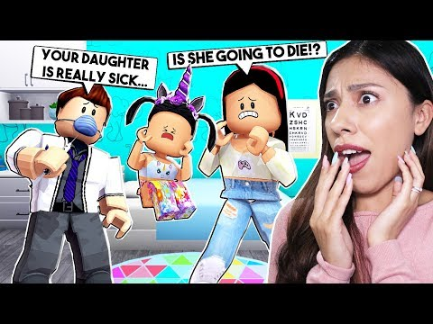 TAKING MY DAUGHTER TO THE HOSPITAL...*SHE'S POSSESSED!* - Roblox - Bloxburg