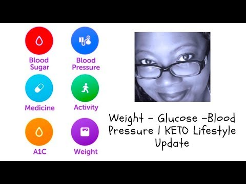 weight-loss-results---keto-lifestyle-|-weight,-glucose-&-blood-pressure-checks🦋