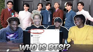 who is bts? the seven members of bangtan   reaction creating armys