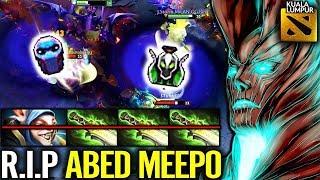 MOST EPIC PRO TEAM WORK Kuala Lumpur Major Moo Terroblade IMBA Carry vs Meepo by Abed Dota 2
