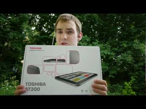Toshiba AT300 Tablet PC Unboxing