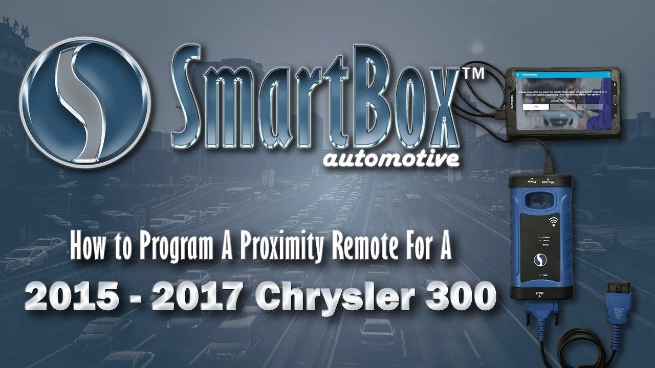 How to Program a Proximity Key to a 2015 - 2017 Chrysler 300