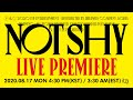 """ITZY """"Not Shy"""" LIVE PREMIERE"""