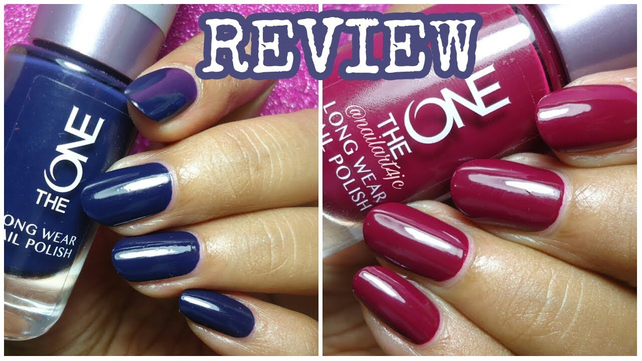 Review The One Nail Polish Oriflame Youtube