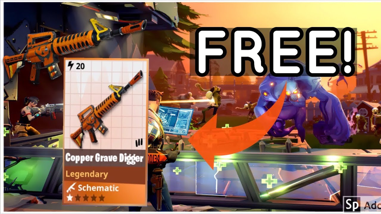Stw Is The Gravedigger Scematic Coming Back For Halloween 2020 WORKING* HOW TO GET THE GRAVE DIGGER SCHEMATIC FOR FREE IN 2020