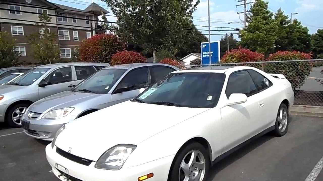 SOLD 1999 Honda Prelude Fixer Upper Preview For Sale At Valley Toyota Scion In Chilliwack BC