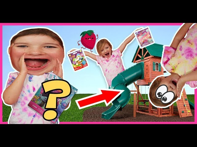 Blind Bag Playground Hunt - Surprise Toy Opening