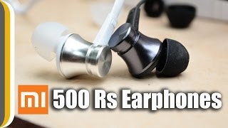 Mi In-Ear Earphones Basic UNBOXING / REVIEW [ 500 Rs. Earphones]