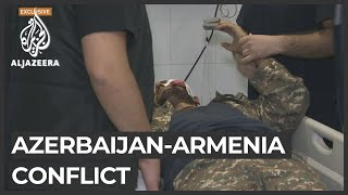 Azerbaijan-Armenia: More casualties in Nagorno-Karabakh's main city