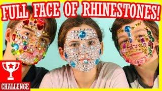 FULL FACE OF RHINESTONES CHALLENGE!  |  KITTIESMAMA