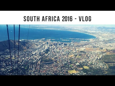 SOUTH AFRICA 2016 VLOG  - Johannesburg to Cape Town