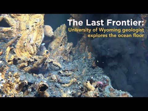 The Last Frontier: UW Geologist Explores the Ocean Floor