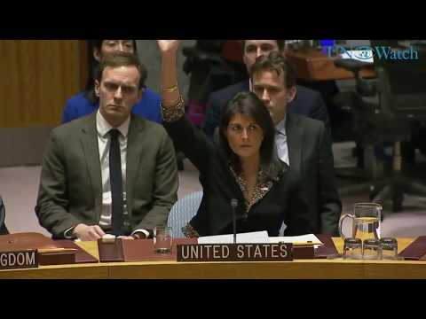 US vetoes Security Council resolution criticizing recognition ...