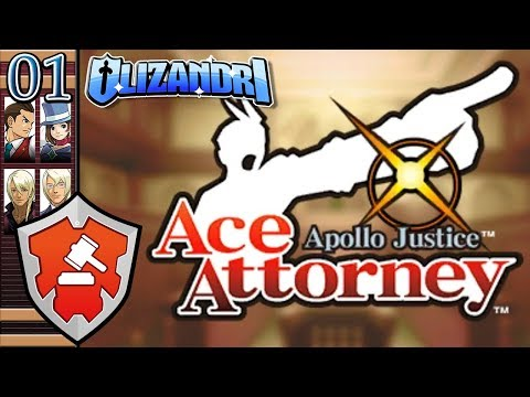 Apollo Justice: Ace Attorney - New Blood Justice! Defend The Old Guard, Turnabout Trump - Episode 1