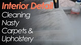 Interior Detailing // Cleaning Dirty Carpets and Upholstery // Using the Hot Water Extractor