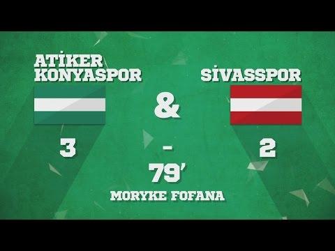 Konyaspor 3-2 Sivasspor | Penaltı Anı ve Sonrası