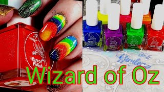 Wizard of Oz watermarble rainbow