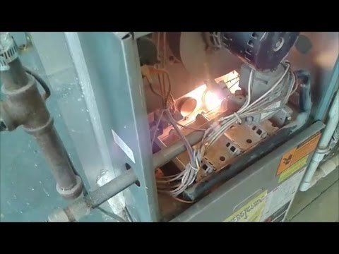 Furnace KeepsTurning On and Off - How to Clean Flame ...