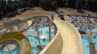 Snow White Water Slide at Acquatica Park