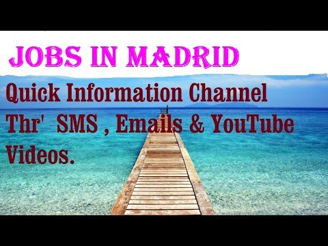Jobs in MADRID     City for freshers & graduates. industries, companies.  SPAIN