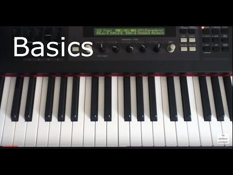 Keyboard Basics 101 - Introducing some musical terms
