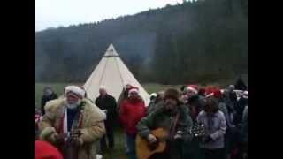 Weihnachtstal 2013 - Wilfried Mengs & der Weihnachtsmann
