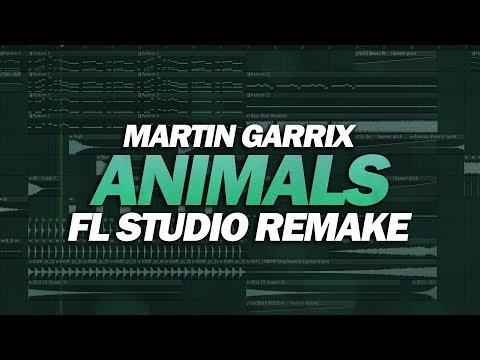 FL Studio Remake: Martin Garrix - Animals [FREE FLP DOWNLOAD]