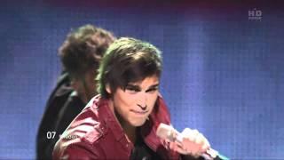 Eric Saade Popular Евровидение 2011 Финал Швеция HD Www Mv4you Net
