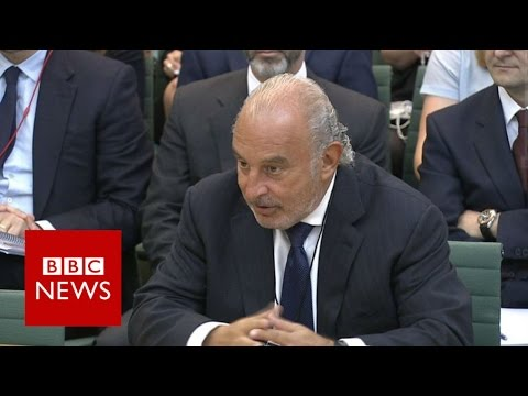 BHS: Sir Philip Green vows to sort out pensions 'mess' - BBC News
