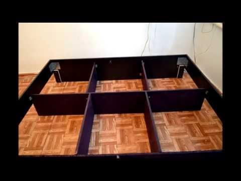 Двухспальная кровать своими руками, chester или коретная стяжка