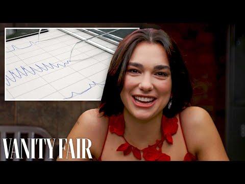 Dua Lipa Takes A Lie Detector Test   Vanity Fair