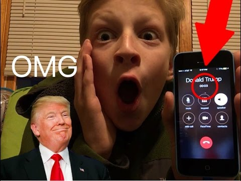 I CALLED DONALD TRUMP *The Police Came To My House*