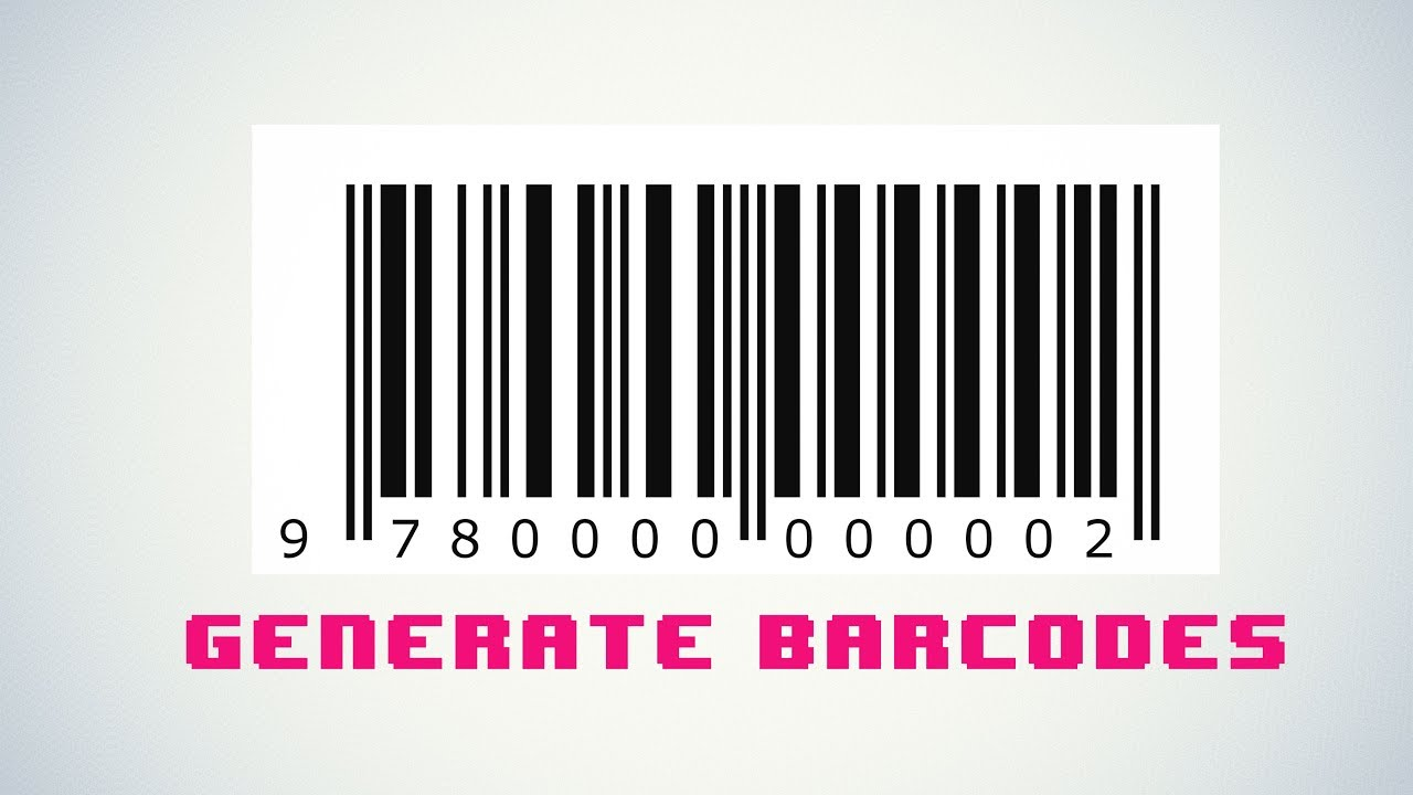 Ean 13 Barcode Example